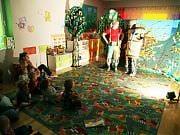 Spektakl grupy teatralnej Echo - Leśne Śmieciuchy - 23-10-2014