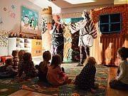 Roszpunka Braci Grimm w przedszkolu 4 Słonie, fot. Katarzyna Boszko