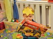 Urodziny Szymona w przedszkolu 4Słonie