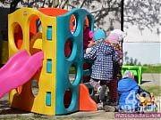 Plac zabaw w przedszkolu 4 Słonie, fot. Katarzyna Boszko