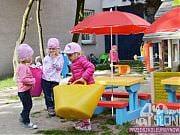 Plac zabaw Przedszkola 4 Słonie, fot. Katarzyna Boszko