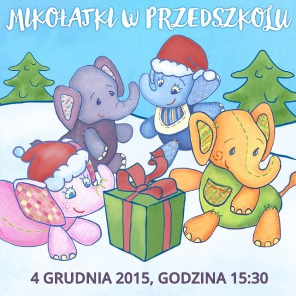 Święty Mikołaj w 4 Słoniach. 4 XII 2015 r.