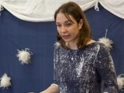 Zima, zima, zima - muzyczny koncert w Przedszkolu 4 Słonie. Fot. Adrianna Kostrzoń