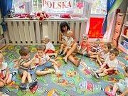 Dzień kibica w Przedszkolu 4 Słonie. 30 czerwca 2016 r. Fot. Anna Wroniecka
