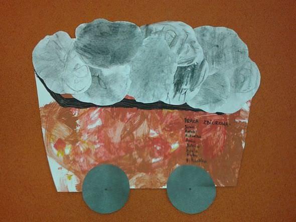 Wagonik pełen węgla 2013-12-17