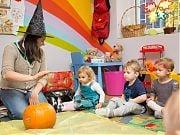 Halloween w 4 Słoniach. 26 X 2016 r. Fot. Anita Kot