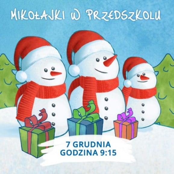W poszukiwaniu Świętego Mikołaja - Mikołajki w Przedszkolu 4 Słonie. 7 XI 2016 r.