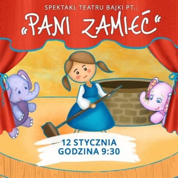 Pani Zamieć - spektakl Teatru Bajki, 12 I 2017 r.