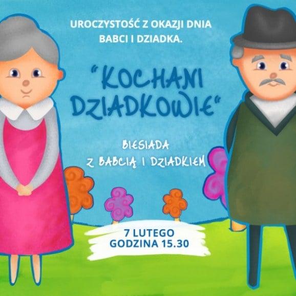 Dzień Babci i Dziadka w Przedszkolu 4 Słonie. 7 lutego 2017 r, godz. 15:30