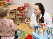 Wizyta farmaceuty w Przedszkolu 4 Słonie. Fot. Anita Kot