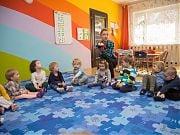 Biedronka Matylda w Przedszkolu 4 Słonie! 29.03.2017 r. Fot. Anita Kot