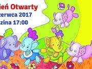 Dzień Otwarty w Przedszkolu 4 Słonie. 8 czerwca 2017 r. godzina 17:00