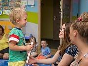 Uroczyste zakończenie roku w Przedszkolu 4 Słonie. 29 VI 2017 r.