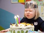 Trzecie urodziny Poli. 31 stycznia 2018 r. Fot. Anita Kot