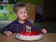 Trzecie urodziny Wiktora. 14 lutego 2018 r., fot. Anita Kot