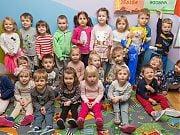 Powitanie wiosny w Przedszkolu 4 Słonie. 21 marca 2018 r. Fot. Anita Kot