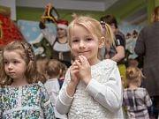 Mikołajki w Przedszkolu 4 Słonie. Grudzień 2018 r. Fot. Paulina Sokołowska