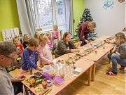 Warsztaty tworzenia świec żelowych. 12 grudnia 2018 r.