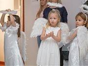 Pójdźmy wszyscy do stajenki... Jasełka w Przedszkolu 4 Słonie. 15 grudnia 2018 r.