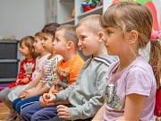 Warsztaty mydlarskie w Przedszkolu 4 Słonie. 13 maja 2019 r.