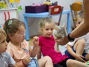 Warsztaty przyrodnicze - zwierzaki w Przedszkolu 4 Słonie. 17 czerwca 2019 r.