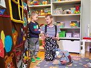 Andrzejkowe wróżby z Teatrem Echo w Przedszkolu 4 Słonie. 25 listopada 2019 r.